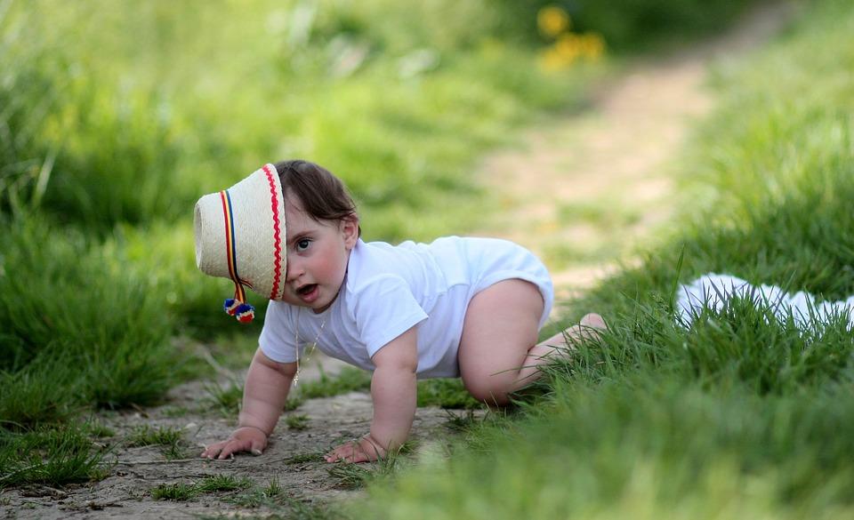 přirozený pohyb - lezení
